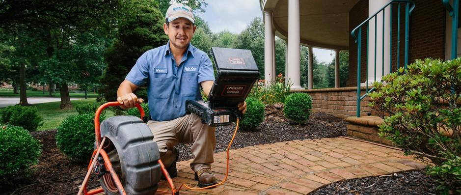 Yard drainage diagnosis